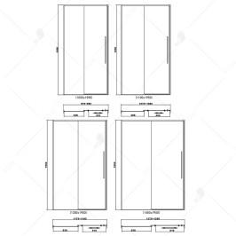 Душевая дверь RGW SV-12